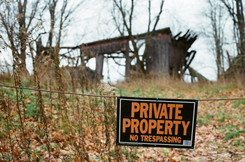 Private property, Minolta SRT 102, Kodak GC 400