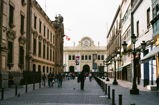 Lima city center, Kodak Ektar 100