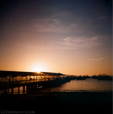 boater's pier, Kodak Ektar 100