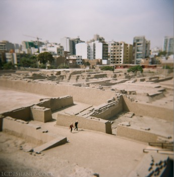 from atop the ruins, Portra 400