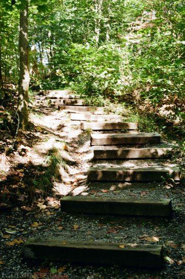 rocky steps, Buttermilk Falls, Kodak ColorPlus 200, Minolta SRT 102